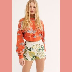 NWT Free People Palm Springs Shorts